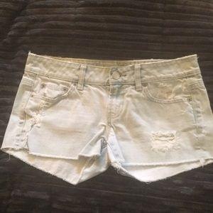 AEO lt.denim shorts sz4